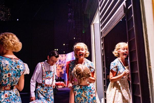 The Von Trapp Children, Kate Rockwell Photo