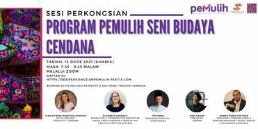 CENDANA Announces Third Sharing Session For 2021 Photo