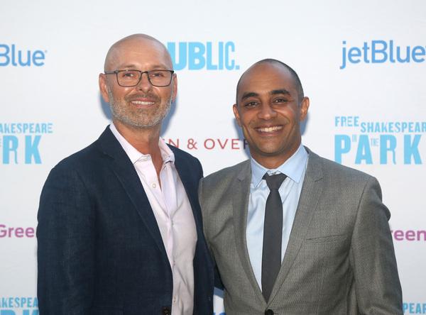 Daryl Beck and Saheem Ali  Photo
