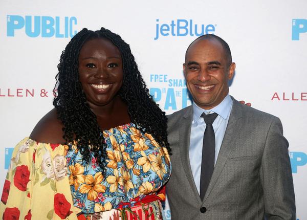 Playwright Jocelyn Bioh and Director Saheem Ali  Photo