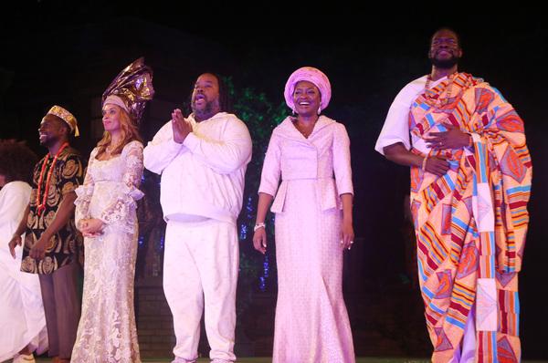 Gbenga Akinnagbe, Susan Kelechi Watson, Jacob Ming-Trent, Pascale Armand and Kyle Sca Photo