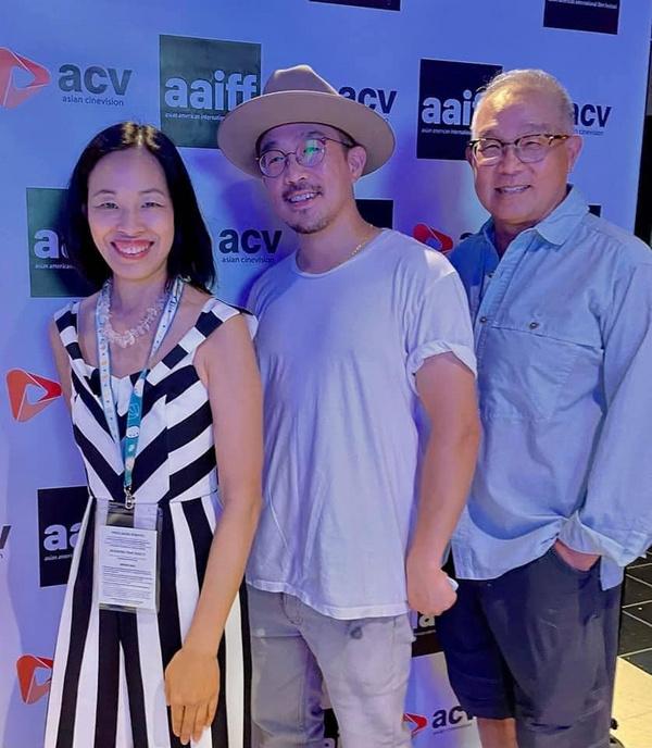 Lia Chang, Ray Huang, Arlan Huang Photo