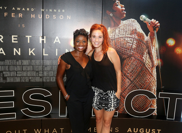 Montego Glover and Sierra Boggess  Photo
