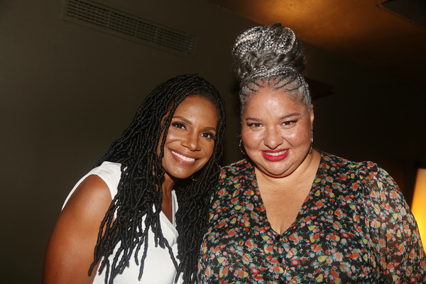 Director Liesl Tommy and Audra McDonald  Photo
