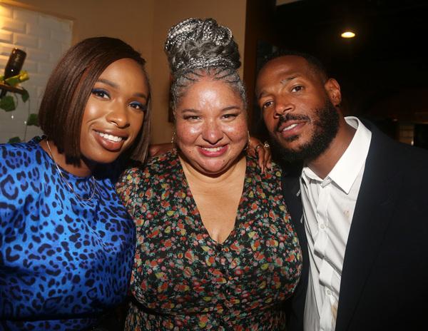 Jennifer Hudson, Director Liesl Tommy and Marlon Wayans  Photo