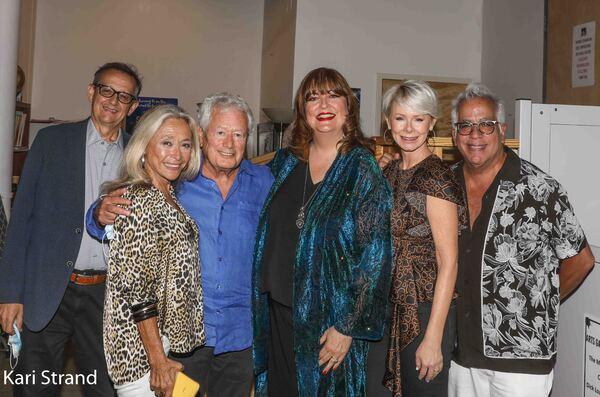 Rich Switzer, Eda Sorokoff, Stephen Sorokoff, Ann Hampton Callaway, Jill Switzer, Ric Photo