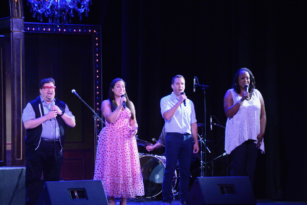 Robert Anthony Jomes, Gina Naomi Baez, Eddie Egan and Inga Ballard Photo