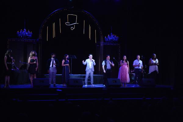 Welcome Back to The Argyle Theatre -Elizabeth Broadhurst, Courtney Ballan, Ryan Grego Photo