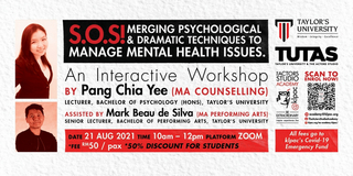 S.O.S! Merging Psychological and Dramatic Techniques To Manage Mental Health Issues Will B Photo