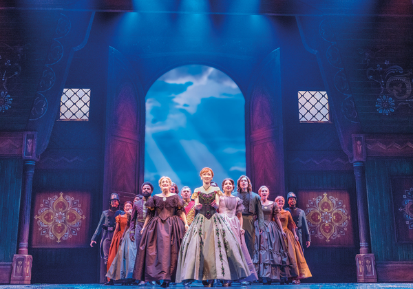 Caroline Innerbichler and The Company of FROZEN on Tour Photo