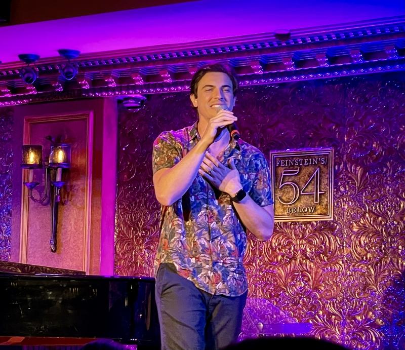 BWW Review: DEREK KLENA Sings Straight From the Heart at Feinstein's 54 Below