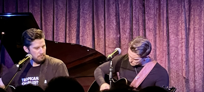 BWW Review: JARED CHINNOCK & EVAN BUCKLEY HARRIS: OLD SOULS Strikes Just the Right Chord at Don't Tell Mama