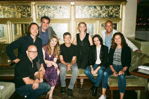 Tom Kitt, Jerry Dixon, Brian d'Arcy James, Anika Larsen, Mandy Gonzalez, Lauren Patte Photo