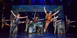 BWW Review: NEWSIES Makes Headlines at Beef & Boards Photo