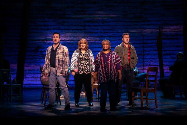 Caesar Samayoa, Sharon Wheatley, Q. Smith and Tony LePage  Photo