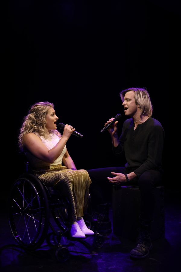 """Gavin Creel and Ali Stroker perform """"As Long As You're Mine"""" Photo"""
