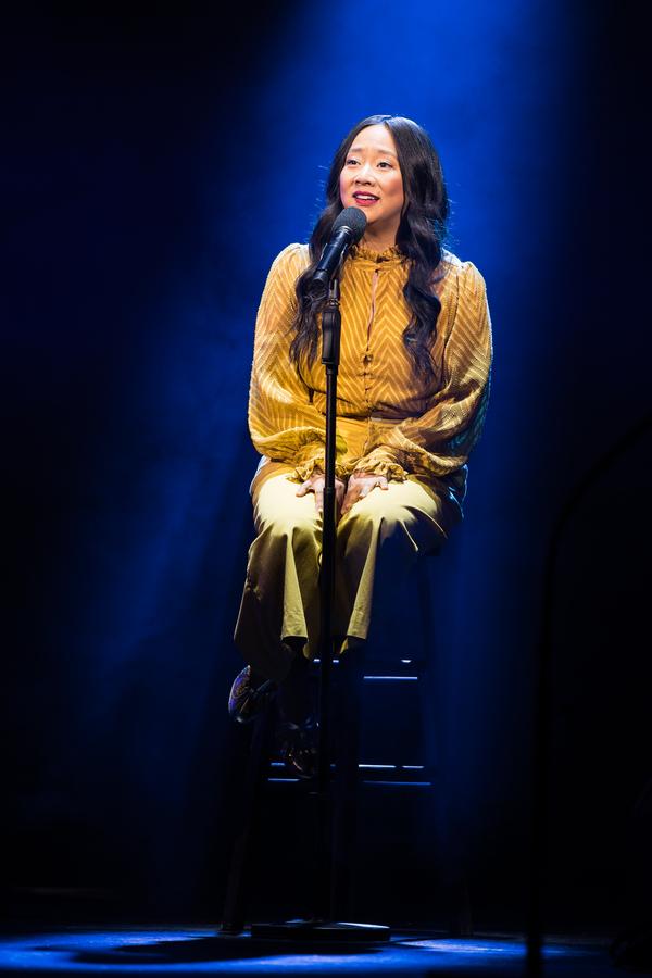 "Stephanie Hsu performs ""I'm Not That Girl"" Photo"