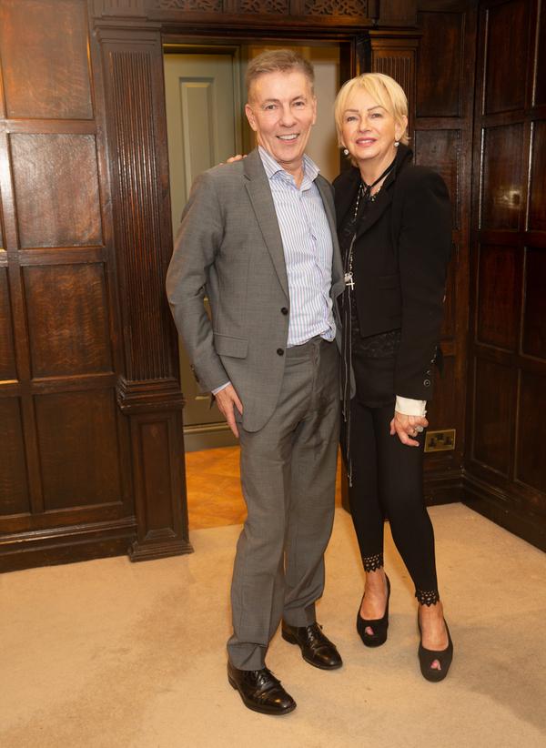 Andrew Pierce & Judy Craymer Photo