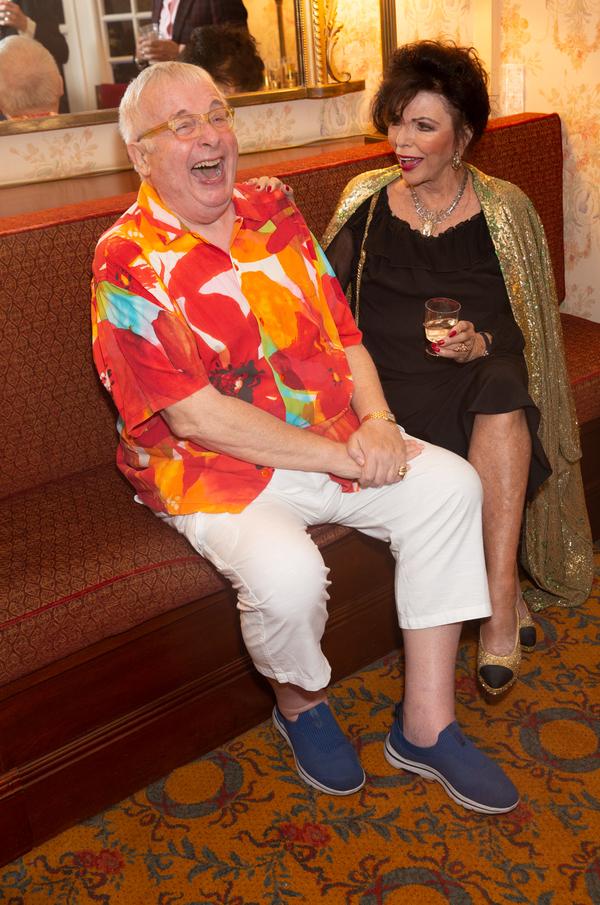 Christopher Biggins & Joan Collins Photo