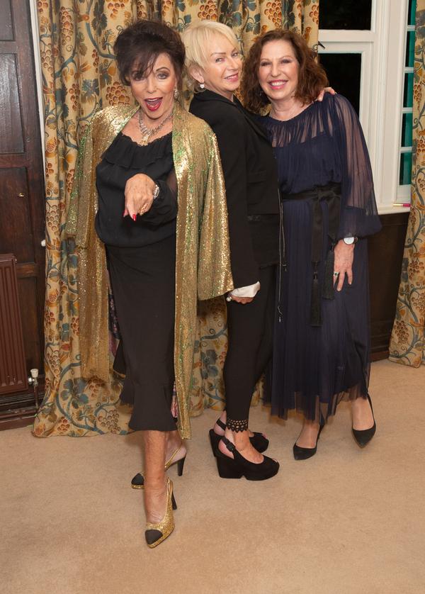 Joan Collins, Judy Craymer & Amanda Platell Photo