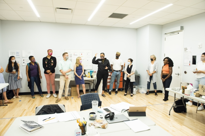 Photos: Go Inside Rehearsals for the World Premiere of THE LAST OF THE LOVE LETTERS