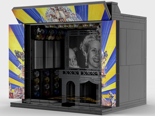 Photos: Henry Lee's Reimagined Lego Broadway Sets Are on Display This Fall at the New York Public Library for the Performing Arts