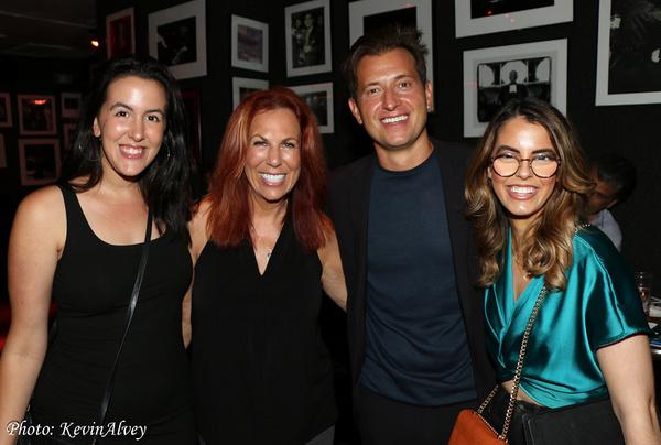 Ava Locknar, Victoria Shaw, Peter Cincotti, Ruby Locknar Photo