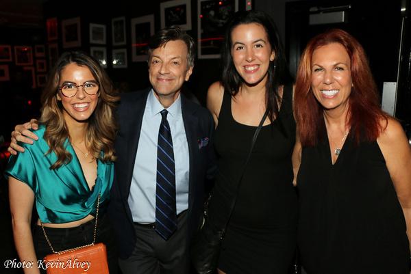 Ruby Locknar, Jim Caruso, Ava Locknar, Victoria Shaw Photo