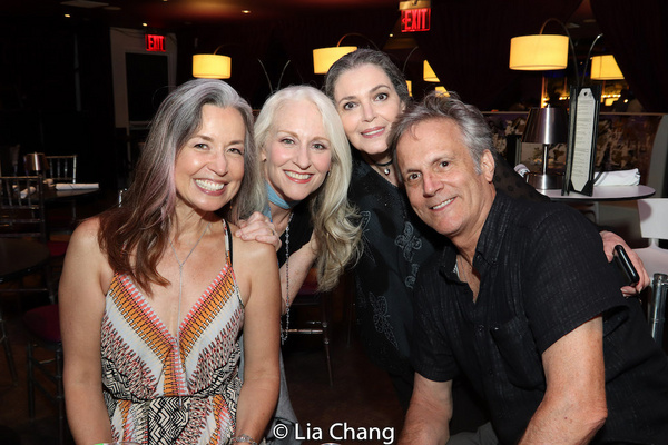 Michelle Duffy, Elizabeth Ward Land, Rose Alaio and Ken Land Photo