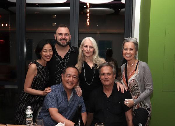 Lia Chang, Joel Waggoner, Alan Muraoka, Elizabeth Ward Land, Ken Land and Michelle Du Photo