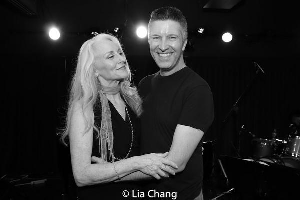 Elizabeth Ward Land and Brad Simmons Photo
