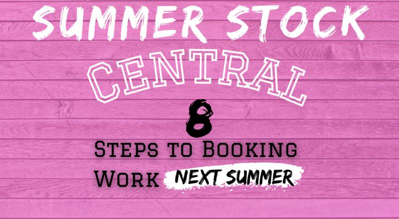 Student Blog: Summer Stock Central: Step #7 | Navigate The Callback