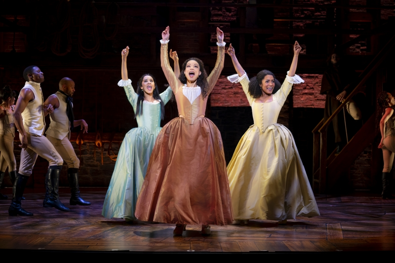 BWW Review: HAMILTON Is a Handsome Production That Is Undermined by a Lack of Cast Chemistry