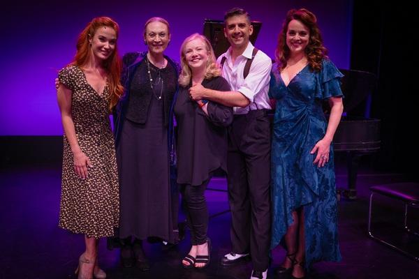 Sierra Boggess, Dee Hoty, Susan Stroman, Tony Yazbeck, and Melissa Errico  Photo
