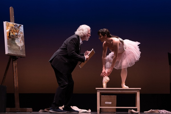 Terrence Mann and Tiler Peck Photo