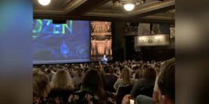 Inside the Refurbished Theatre Royal Drury Lane for First Preview of FROZEN Video