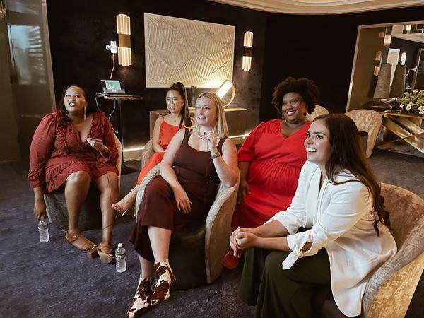 Aneesa Folds, Janet Noh, Kaila Mullady, Shamarah Hernandez, and Ashley Perez Flanagan Photo