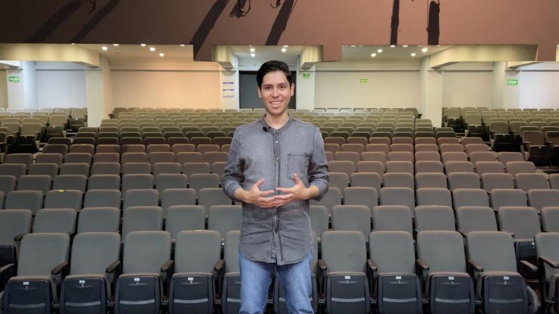 Alan Gutiérrez, Director 'Voy Al Teatro'