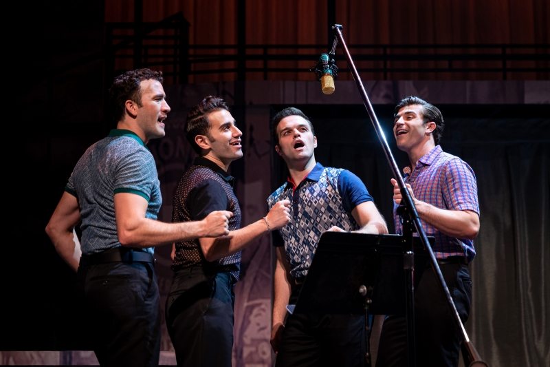 BWW Review: Chasing the Music: MSMT Mounts Spectacular JERSEY BOYS in Westbrook