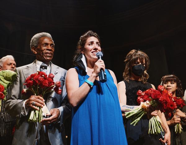 Andre De Shields, Rachel Chavkin, Anais Mitchell Photo