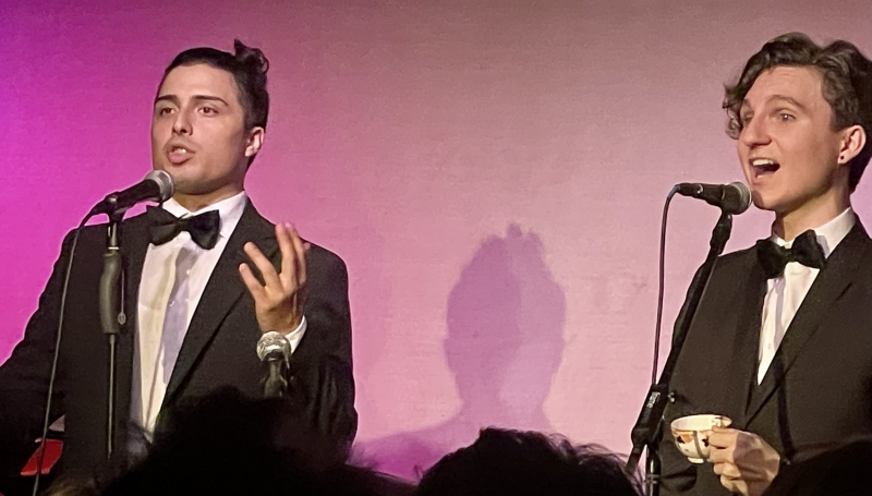 BWW Review: MR. HARRIS AND MR. EDWARDS Are Off to a Promising Start at Don't Tell Mama