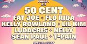 Golden Sand Announces 50 Cent, TLC, Kelly Rowland, T-Pain, Sean Paul, Ludacris and More fo Photo