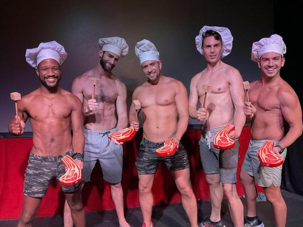Marcus Terrell, Chris Salvatore, David Hernandez, Matthew Ludwinski,  Louis D'Aprile Photo
