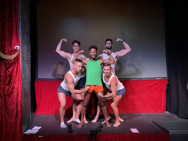 Matthew Ludwinski, David Hernandez, Marcus Terrell, Louis D'Aprile, Chris Salvatore Photo