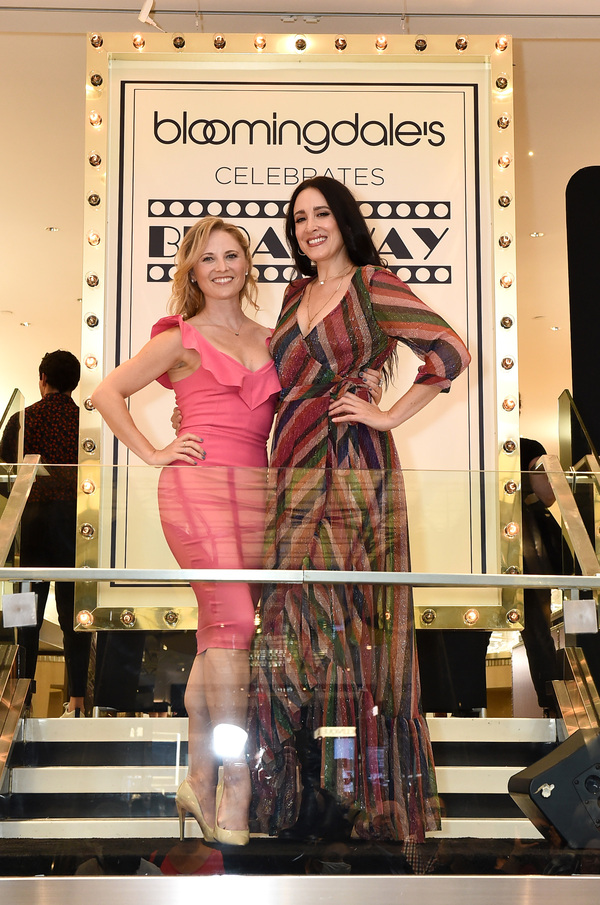 Hayley Podschun and Dee Roscioli  Photo