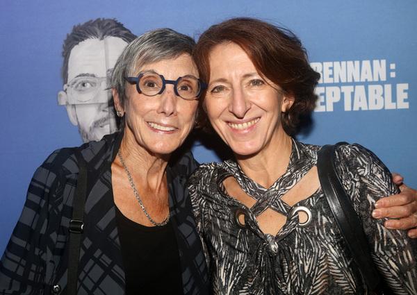 Robyn Goodman and set designer Anna Louizos  Photo
