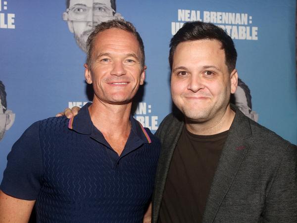 Neil Patrick Harris and Director Derek DelGaudio  Photo