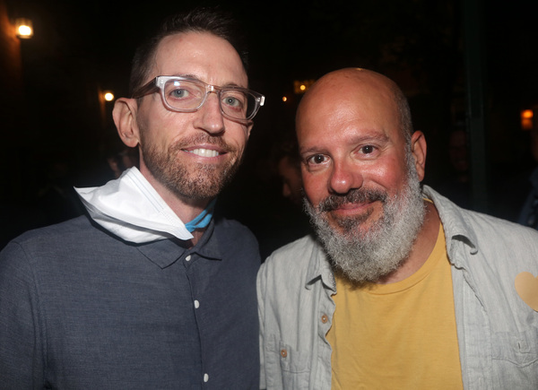 Neal Brennan and David Cross Photo