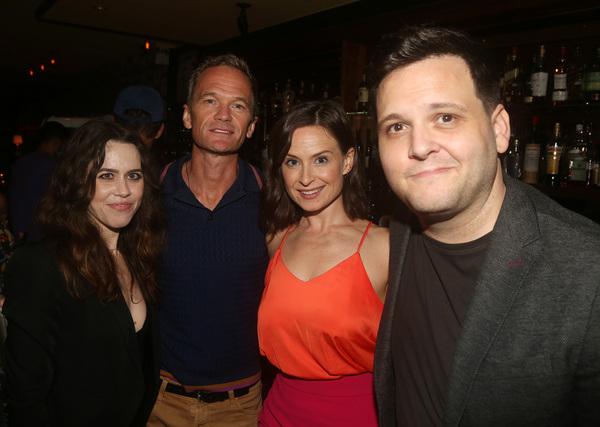 Producer Vanessa Lauren, Neil Patrick Harris, Zoe Chapin and Director Derek DelGaudio Photo
