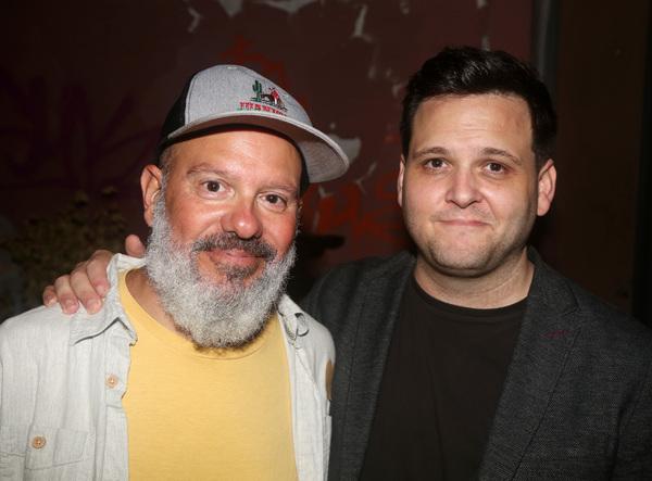 David Cross and Director Derek DelGaudio  Photo